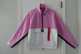 NWT DKNY 1/2 Zip Pullover Sport Jacket, M, Rosebud - $13.99