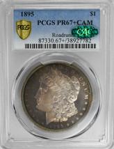 1895 $1 Morgan Dollar Amazing Color PCGS PR67+CAM - $220,000.00