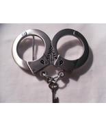 BELT BUCKLE - Heavy Metal Handcuffs - $10.00