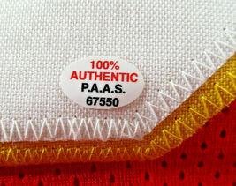TONY GONZALEZ / HOF '19 / AUTOGRAPHED KANSAS CITY CHIEFS RED CUSTOM JERSEY / COA image 5