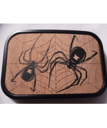 Black Widow Belt Buckle  - $15.00