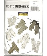 Butterick B5370 Making History Misses' Historical Gloves Pattern  - $6.95