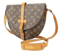 Authentic LOUIS VUITTON Chantilly GM Monogram Canvas Shoulder Bag #35079 - $439.00