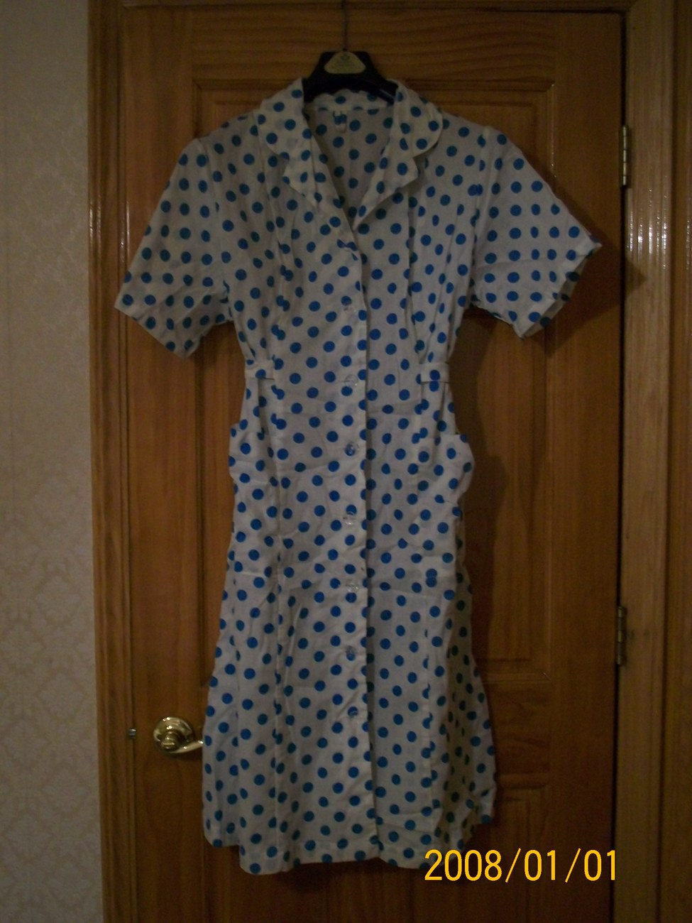 Robe housecoat house coat gown brand new 100% cotton