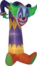 Airblown Kaleidoscope Clown W/Projection Gemmy Prop Halloween Decor Deco... - £86.13 GBP