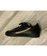 Adidas Continental 80 Black Pink Womens SZ- 9 Sneakers Running EE4349 - $45.00