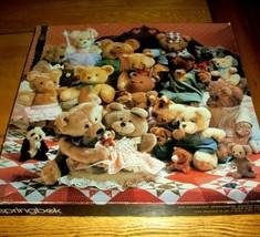 Vintage Springbok Jigsaw Puzzle 500 Pieces Teddy Bears Best Friends 2 Mi... - $13.85