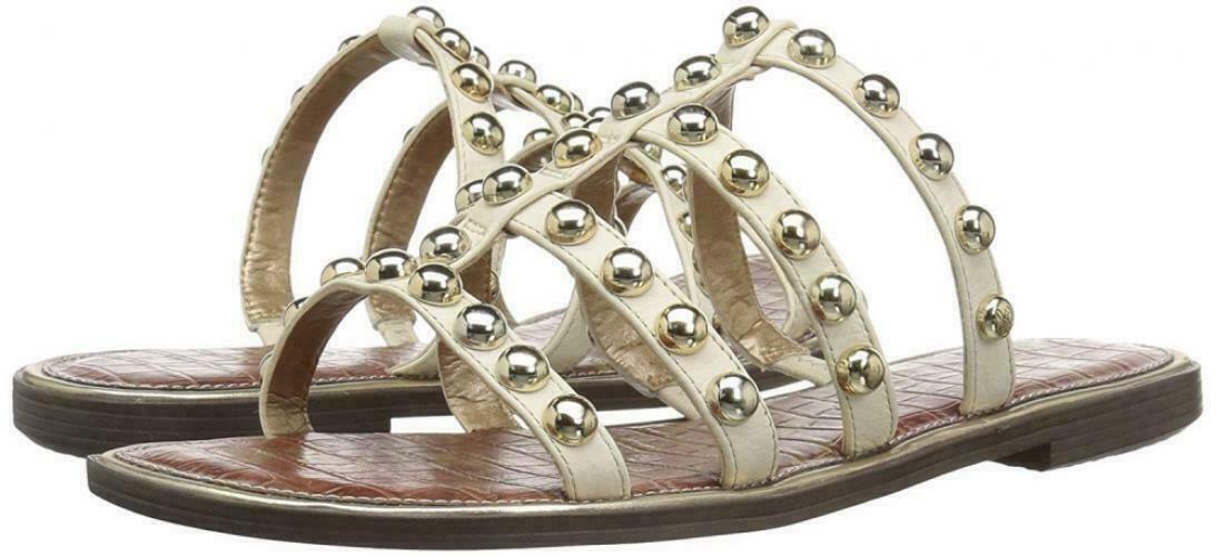 828ffc114 Sam Edelman Glenn Ivory Leather Sandals Size and 50 similar items