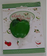 Magnet, Hand Painted Green Apple  - $5.00