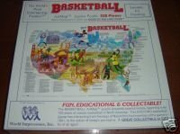 BASKETBALL ARTMAP PUZZLE 550 PC SEALED
