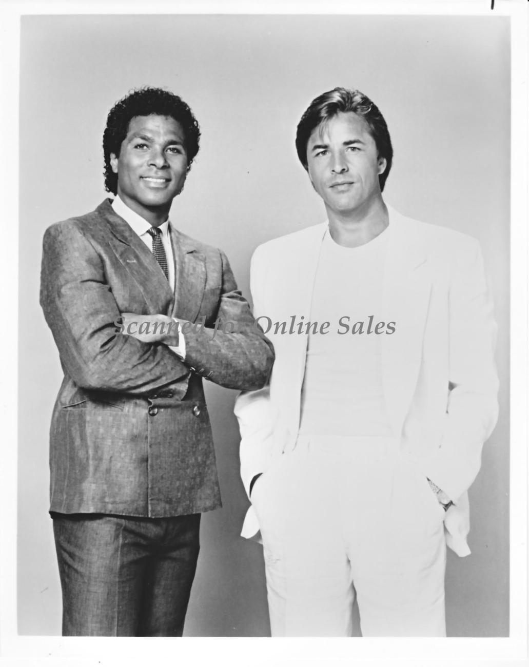 Miami Vice Michael Phillip Thomas Don Johnson 8x10 Photo