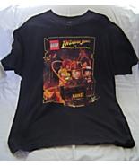 Lego Indiana Jones the Original Adventures Short Sleeve Black T Shirt si... - $9.99