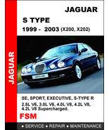 JAGUAR S TYPE 1999 - 2003 FACTORY OEM SERVICE REPAIR MANUAL ACCESS IT IN... - $14.95