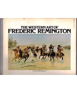 The Western Art of FREDERIC REMINGTON by Matthew Baigell - $4.95