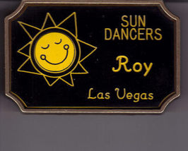 Sun Dancers Las Vegas Belt Buckle Solid Brass - $29.95