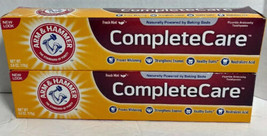 2 Pack Arm & Hammer Complete Care Toothpaste Fresh Mint 6oz Each - $14.81