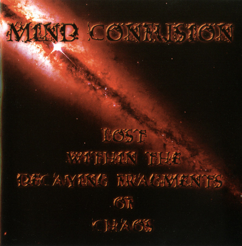 Mind Confusion - Lost Within the...Chaos CD French-Canadian