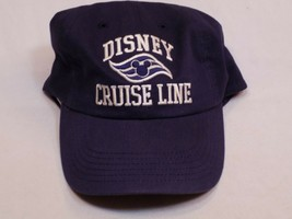 Walt Disney Cruise Line Baseball Hat Cap Blue White Embroidered Tan Mickey Mouse - $24.99