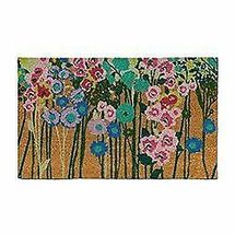 """1'6"""" x 2'6"""" Floral Vacation Tropical Rectangle Shape Door Mat Green Opalhouse  image 4"""