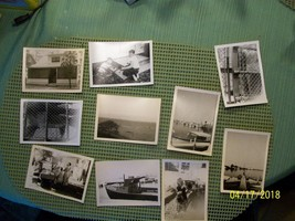 3#Je   Estate Find!   Lot of 10 vintage photos, unknown subjects and loc... - $5.93