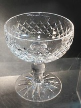 Alana Signed Waterford CUT GLASS dessert crystal Ireland - $26.77