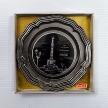 Coca-Cola Hanging Pewter Plate (Berlin) - UNIQUE ITEM--50% off - $51.98