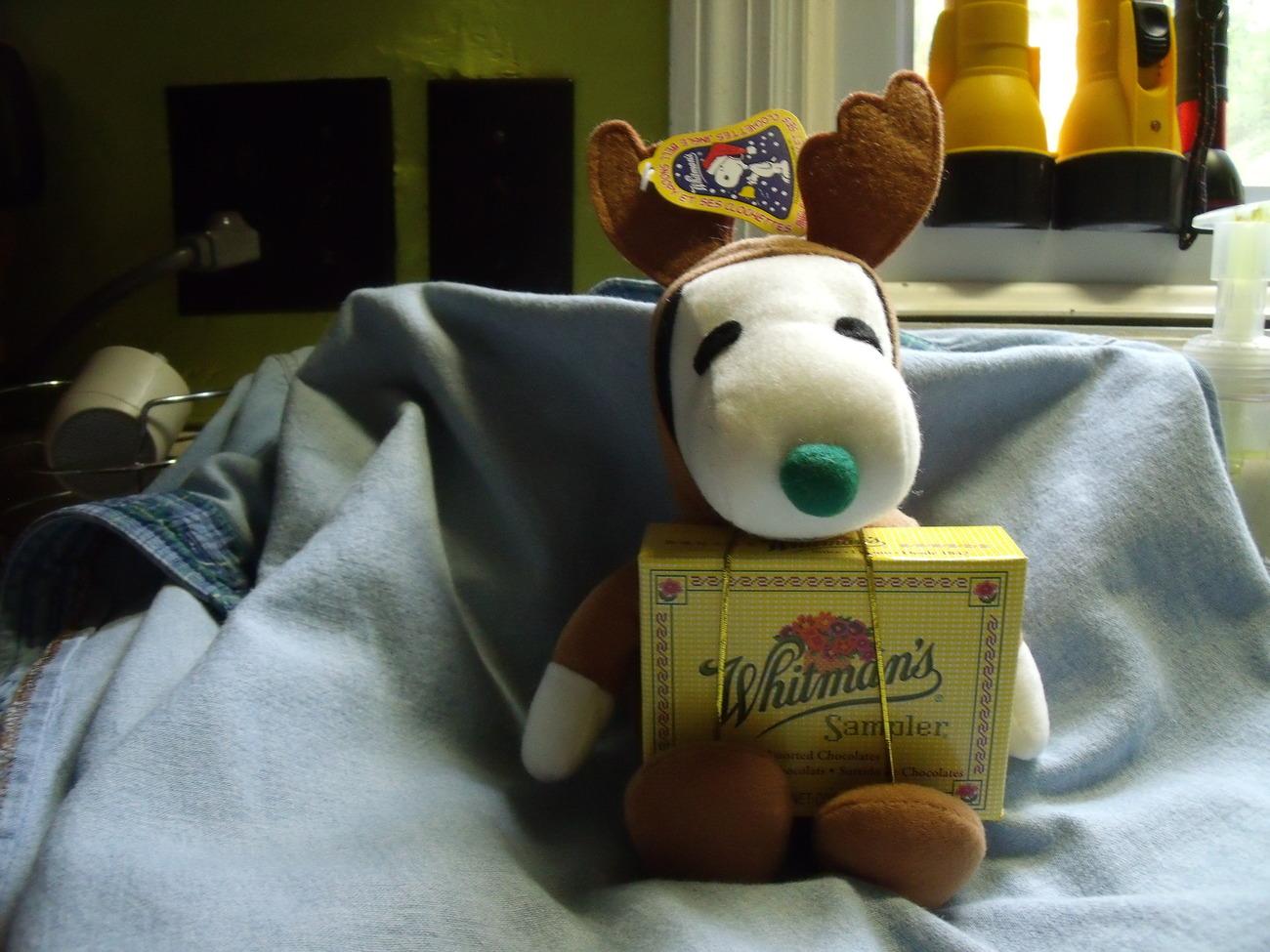 Whitman Jingle Bell Snoopy