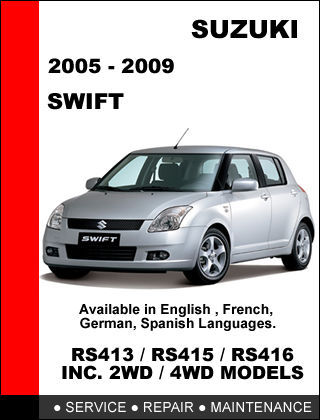 suzuki swift 2005 2009 rs413 rs415 rs416 and 50 similar items rh bonanza com suzuki swift 2010 manual book suzuki swift 2008 manual book