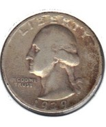 Nice 1939 S Washington Quarter - €9,02 EUR