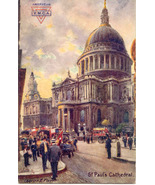 ST Pauls Cathedral Tucks Doughboy 1918 Vintage Post Card  - $7.00