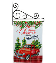 Christmas Happy New Year - Impressions Decorative Metal Fansy Wall Brack... - $27.97