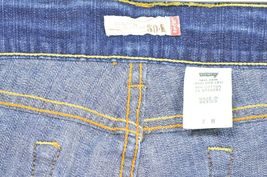 Levi 504 7 x 32 slouch straight leg low rise dark wash image 9