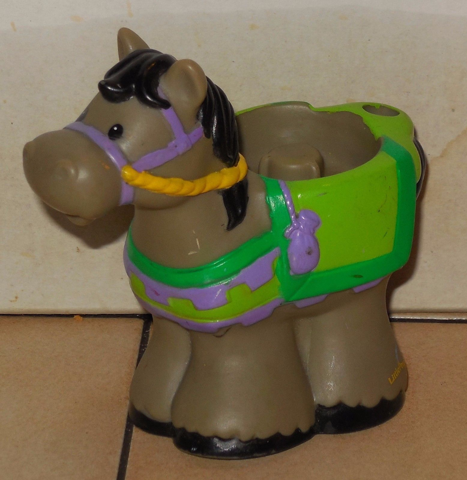 Fisher Price Current Little People Castle Horse #2 FPLP Rare VHTF