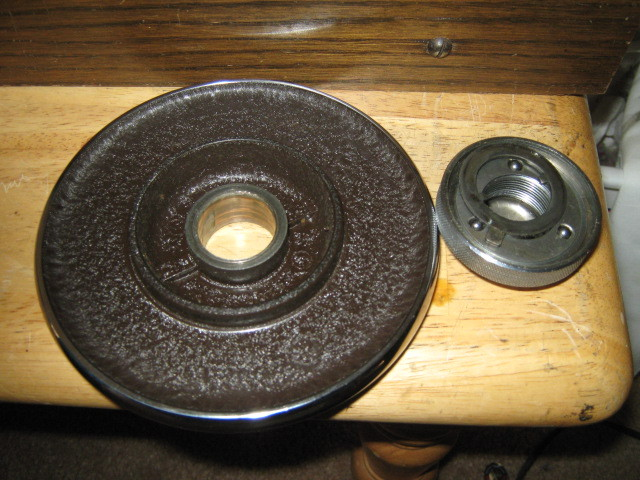 Kenmore Deluxe Rotary 117.812 Balance Disk w/ Stop Motion Knob Washer & Bearings