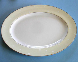 "Waterford China BALLET BLOSSOM Oval Serving Platter Large 15.5"" Made in UK New - $89.90"