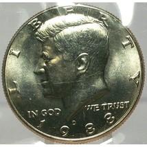 1988-D Kennedy Half Dollar BU In the Cello #0679 - $7.89
