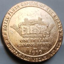 "FIESTA Casino Hotel North Las Vegas, ""ROXY'S""NV One Dollar Gaming Token, Vintage - $3.95"