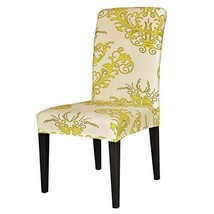 TIKAMI 6PCS Spandex Printed Fit Stretch Dinning Room Chair Slipcovers 6,... - $48.07