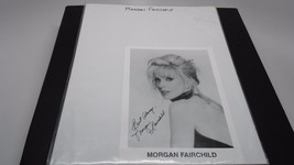 Morgan Fairchild Autograph 5X7 Photograph Hand Signed w/COA - $34.16