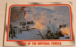 Empire Strikes Back Trading Card #42 Might Of The Imperial Forces - $1.97
