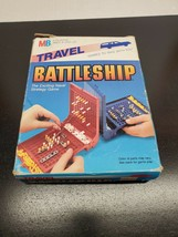 Vintage 1986 Milton Bradley Travel Battleship - Complete with box - $9.28