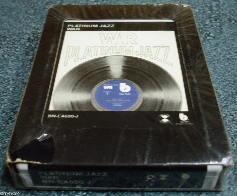 WAR New Sealed '77 Blue Note 8 Track Tape PLATINUM JAZZ