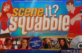 Scene It? Squabble DVD Game-family Trivia NEW Men Vs Women Chick Flicks ... - $22.65