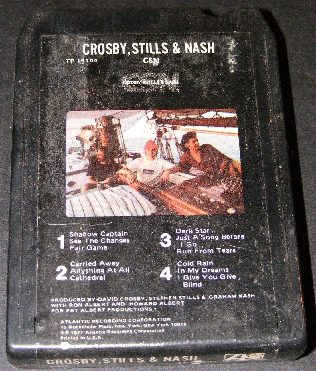 Crosby, Stills & Nash 8 Track