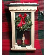 """CANDLE IN THE WINDOW"" Christmas Ornament - Very Pretty and Unique Item!! - $3.49"