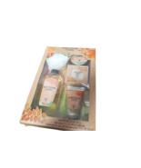 Orange Blossom & Neroli Bath Set Pouf Body Scrub Shower Gel Body Lotion ... - $14.85
