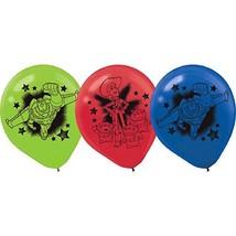 "Toy Story Power Up Disney Pixar Birthday Party Decoration 12"" Latex Balloons - $9.17"