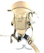 Infantino Easy Rider Baby Carrier tan green red - $50.00