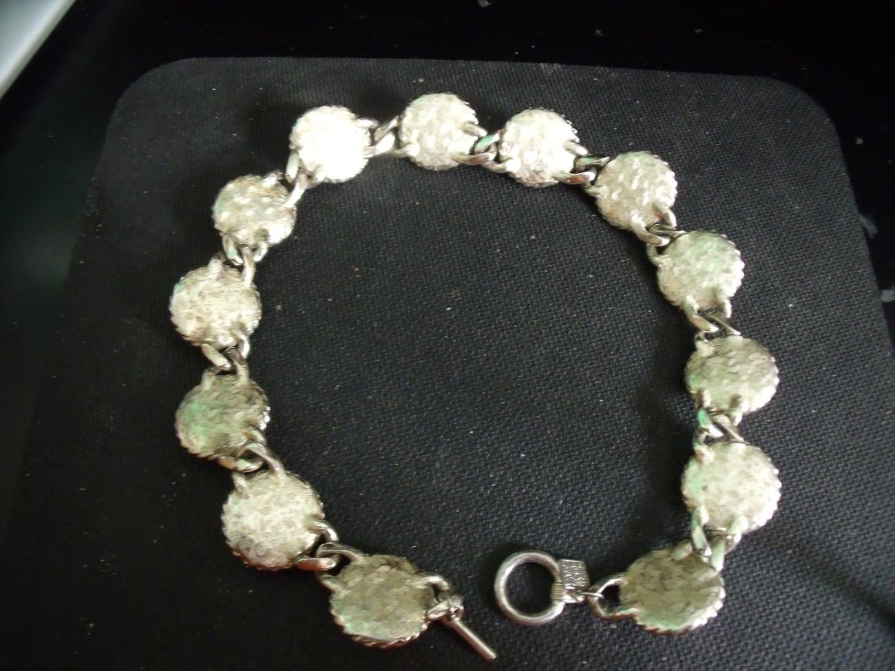 Anne Klein Vintage Pearl Silver Necklace