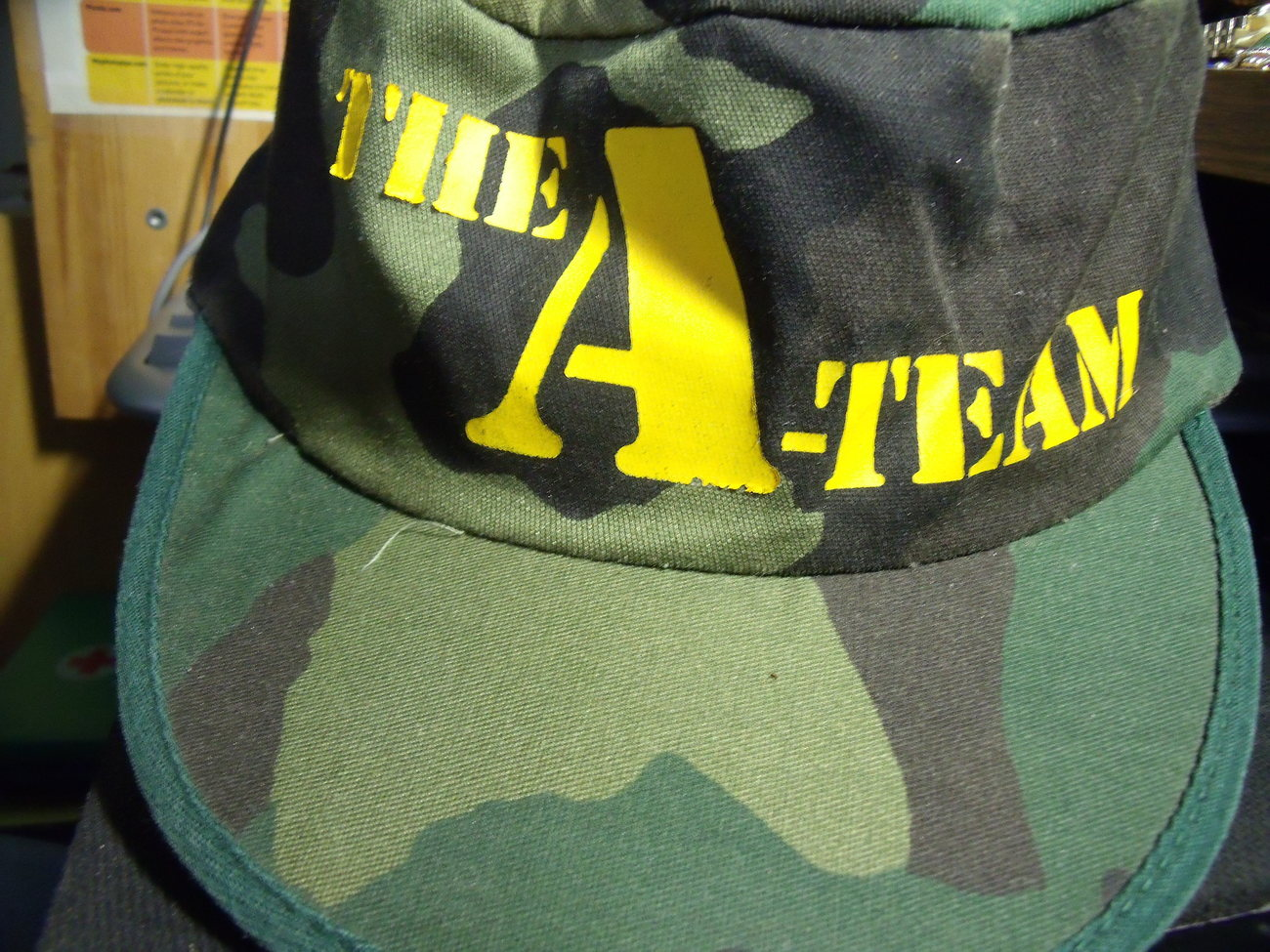 A-Team Cap from era of Television Show Never Worn
